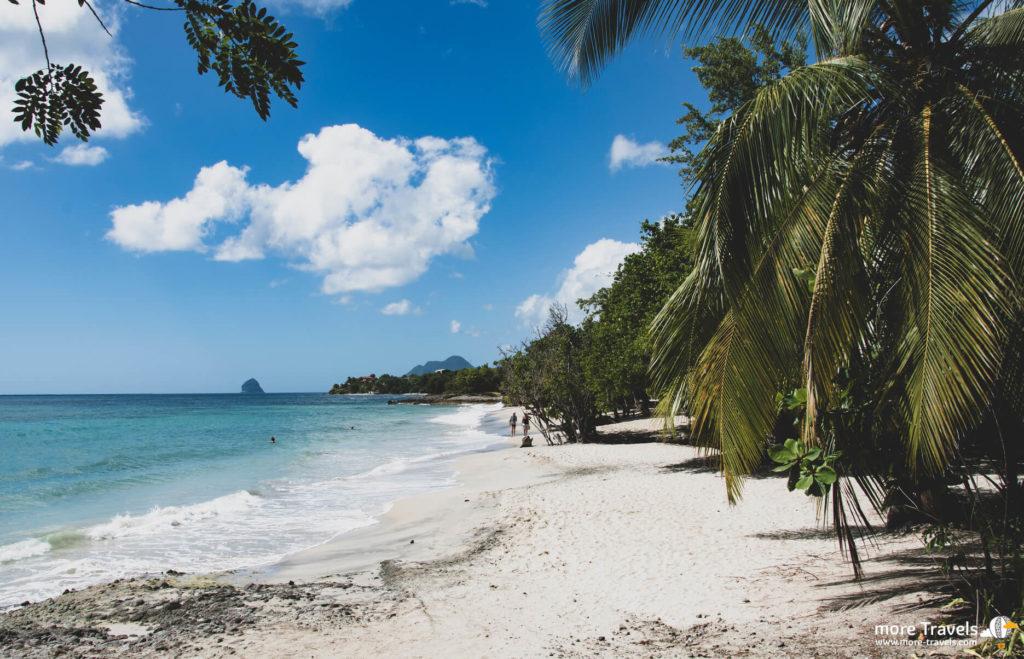 Rajska plaża martyniki