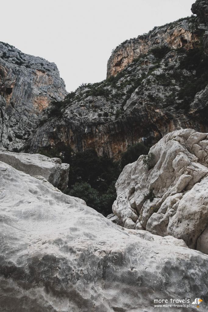 Kanion Gorropu na SArdyni